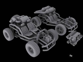 Buggy V1 and V2 by TKAzA