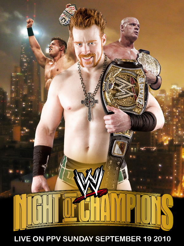 Night Of Champions poster by TwistedEffect