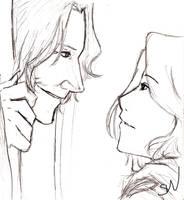 Rumplestiltskin and Emma by AllenLenalee