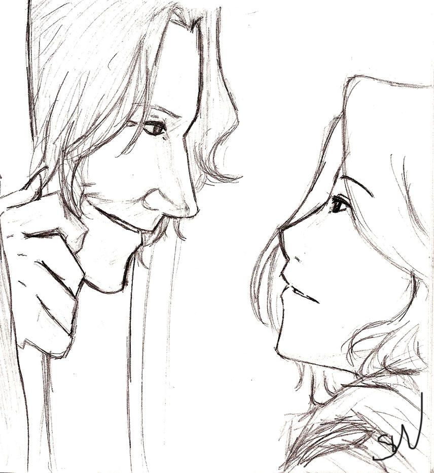 Rumplestiltskin and Emma by AllenLenalee