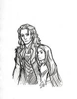 the God of Mischief and the Woman of Science by AllenLenalee