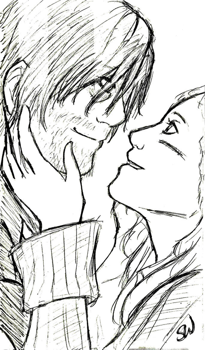 Bethyl Reunion (Pencil Version) by AllenLenalee