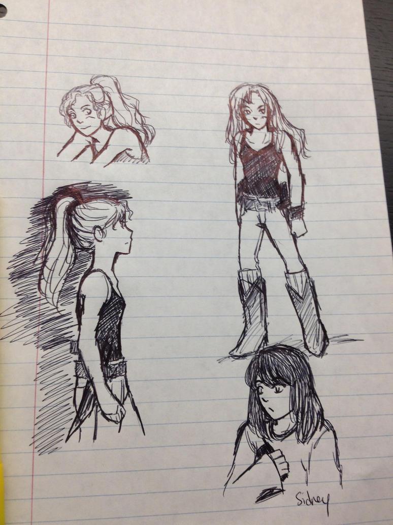 Doodles by AllenLenalee