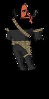 Batman TAS: Deathstroke by TheRealFB1