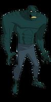 Batman TAS: Killer Croc by TheRealFB1
