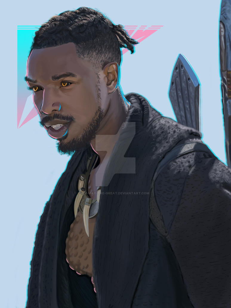 Killmonger by P-May-The-Great
