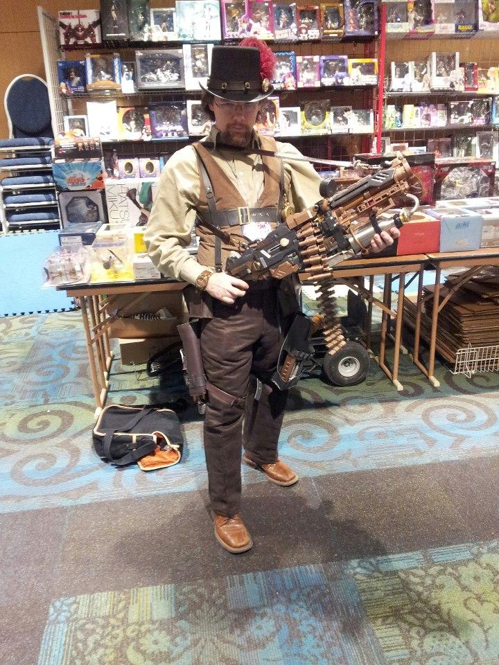 Steampunk Heavy Gunner by NekoFallenOne