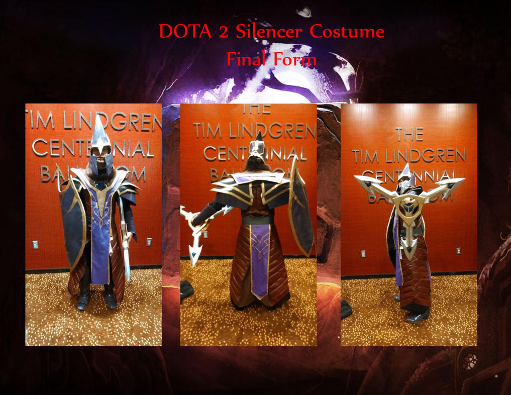 DoTA 2 Silencer Cosplay Final by NekoFallenOne