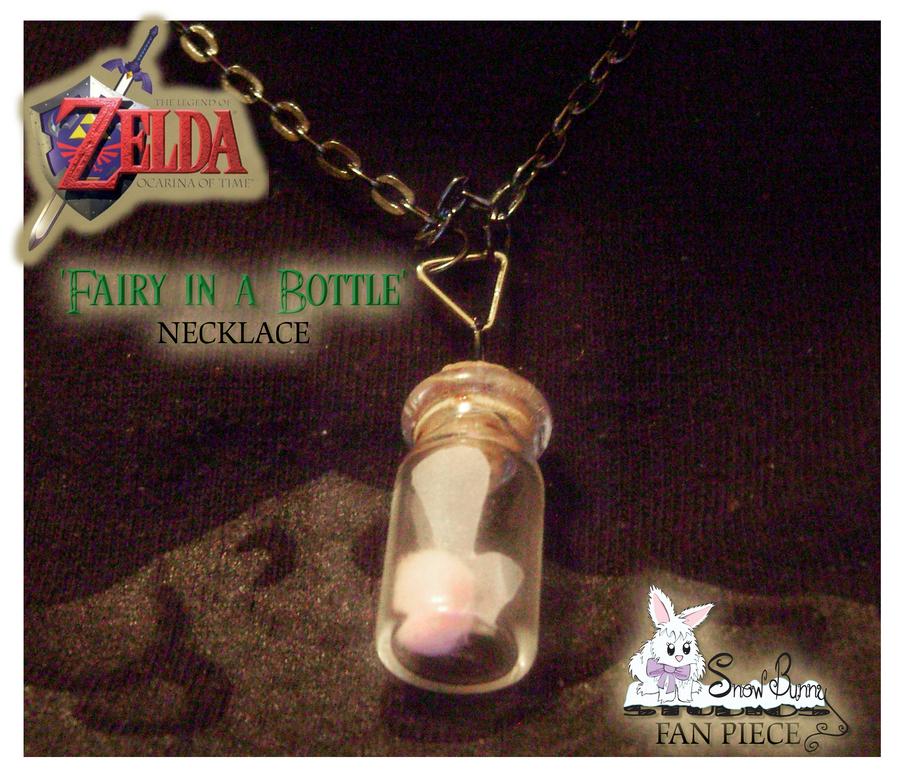 Water Bottle Zelda: 'Fairy In A Bottle' Necklace By SnowBunnyStudios On DeviantArt