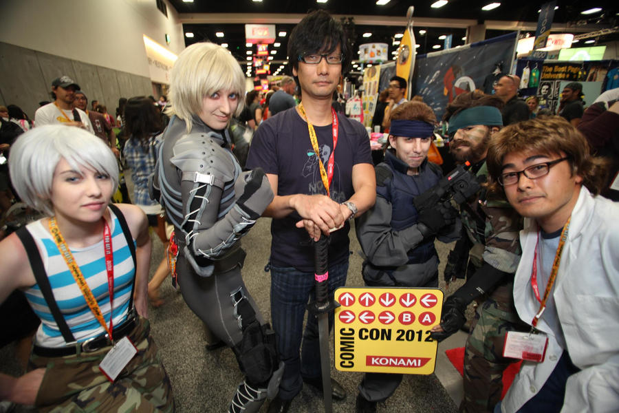 SDCC2012 - Creator and his Creations by SnowBunnyStudios
