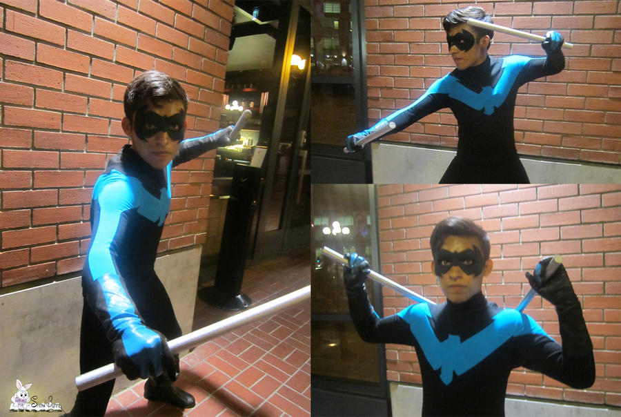 Commission - Pre-52 Nightwing Costume by SnowBunnyStudios ... & Commission - Pre-52 Nightwing Costume by SnowBunnyStudios on DeviantArt