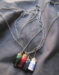 Legend of Zelda 'Potion Bottle' Necklace