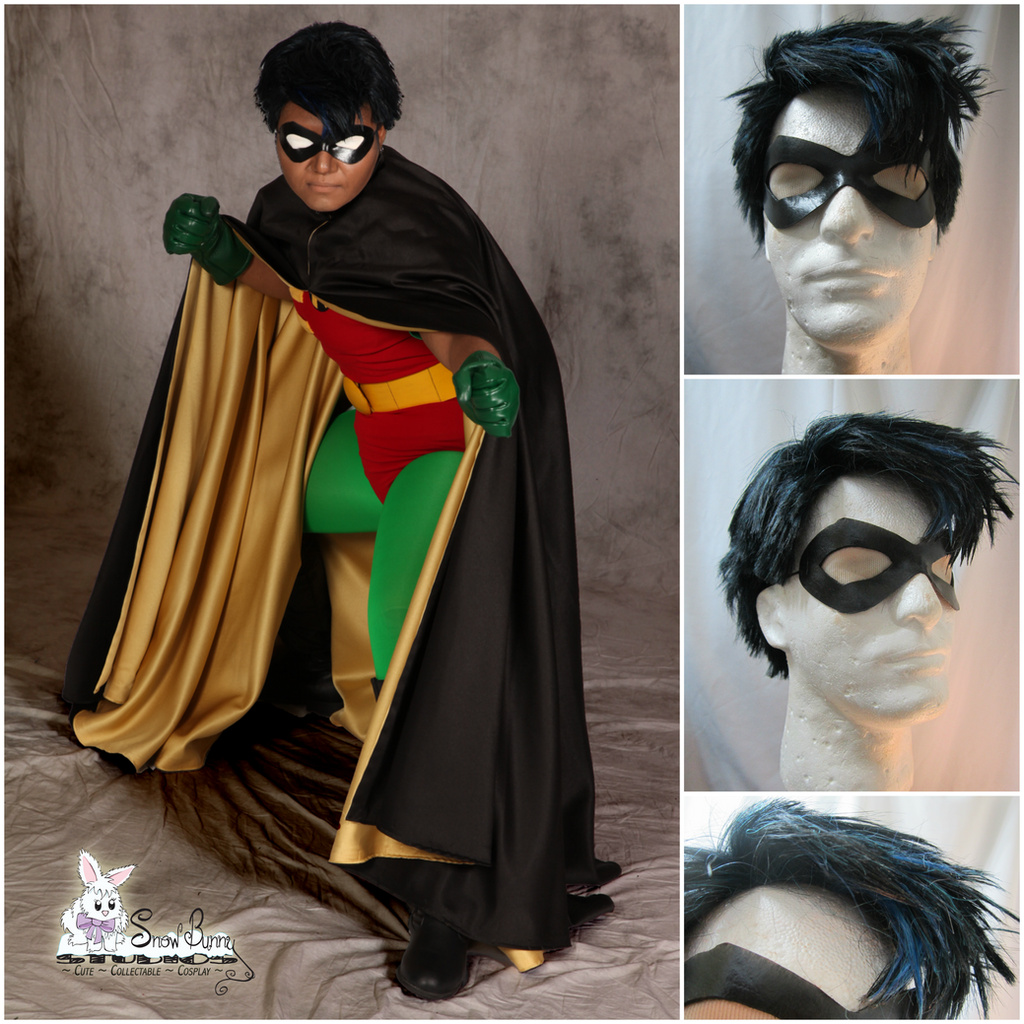 Robin Batman The Animated Series Wig By