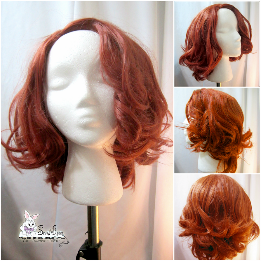 Commission - Black Widow (Avengers) - Wig by SnowBunnyStudios