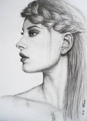 woman profile by Eva-done