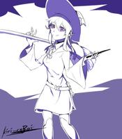 Little Witch Mimi by kiri-rxRai