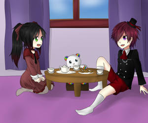 Tea Party by kiri-rxRai