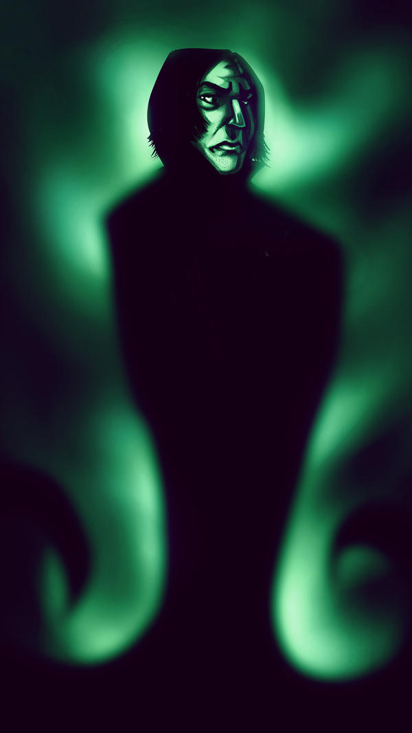 Severus Snape by MartinBailly
