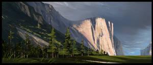 Yosemite national park by MartinBailly