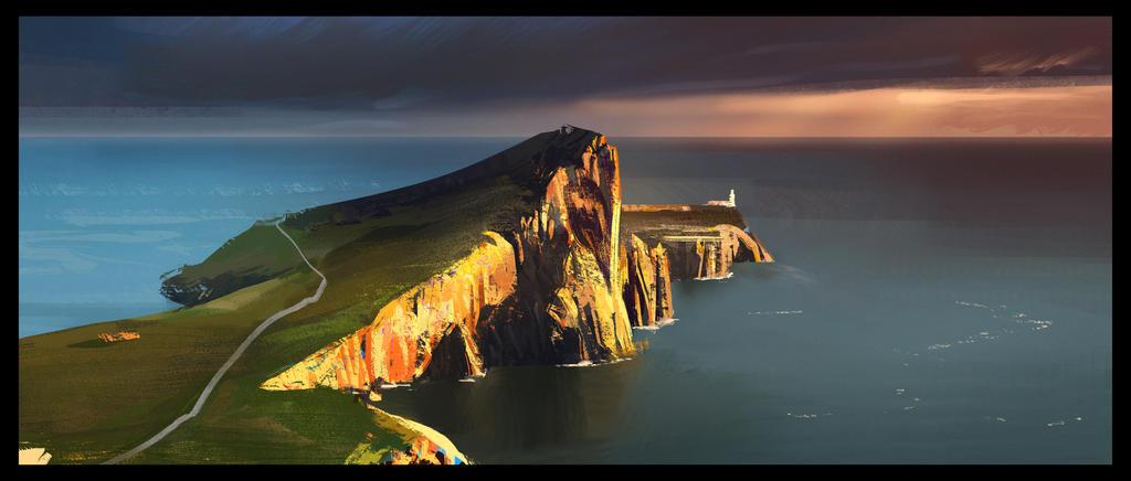 Nest Point, Scotland by MartinBailly