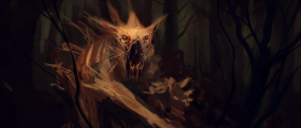 Beast of the forest by MartinBailly