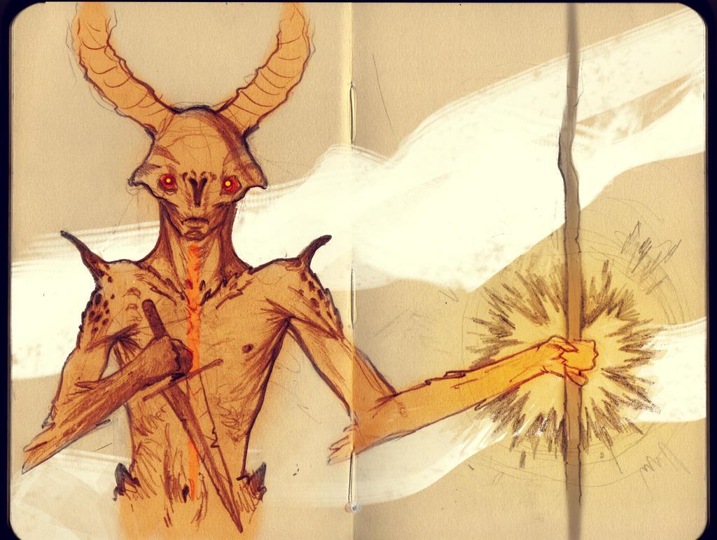 The Demon Priest by MartinBailly