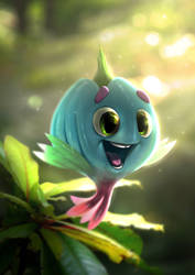 Akiesmenmoo - the little one by MartinBailly