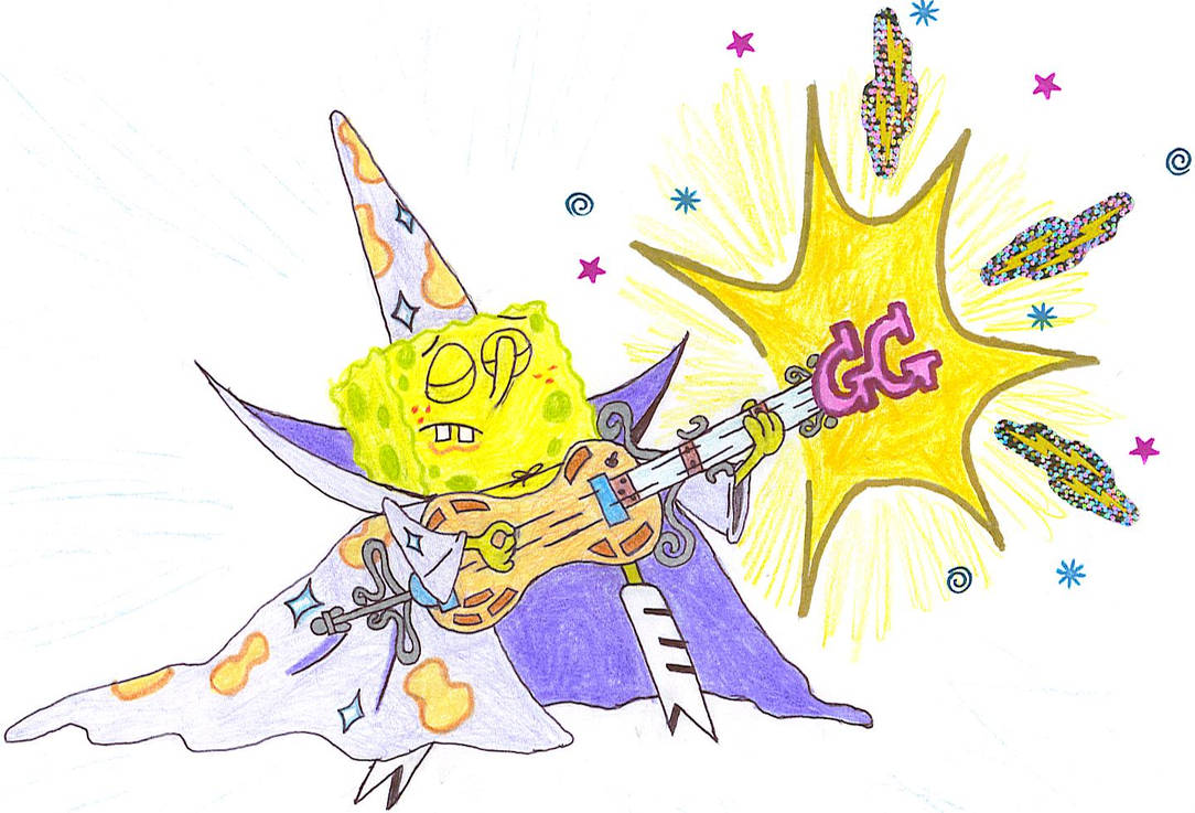 Goofy Goober Guitar Wizard By Zbot9000 On Deviantart