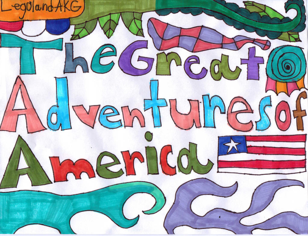 Legoland AKG: The Great Adventures of America by Stephen524