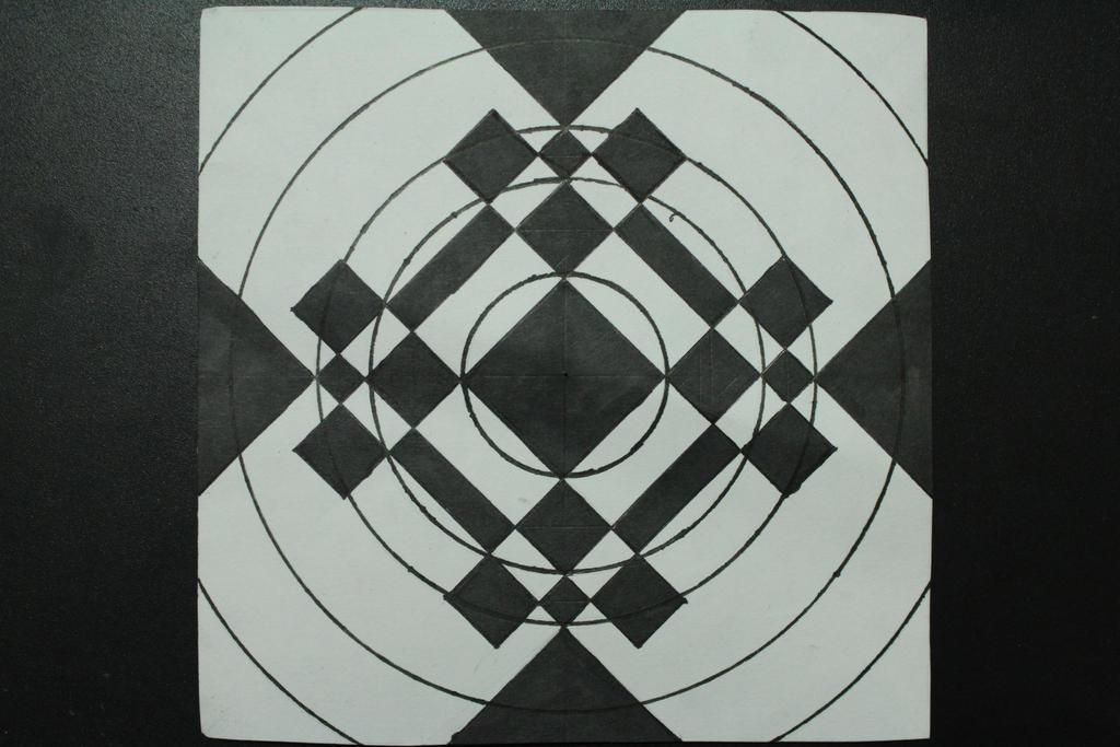 Geometric Drawing #40 by ShininGecko