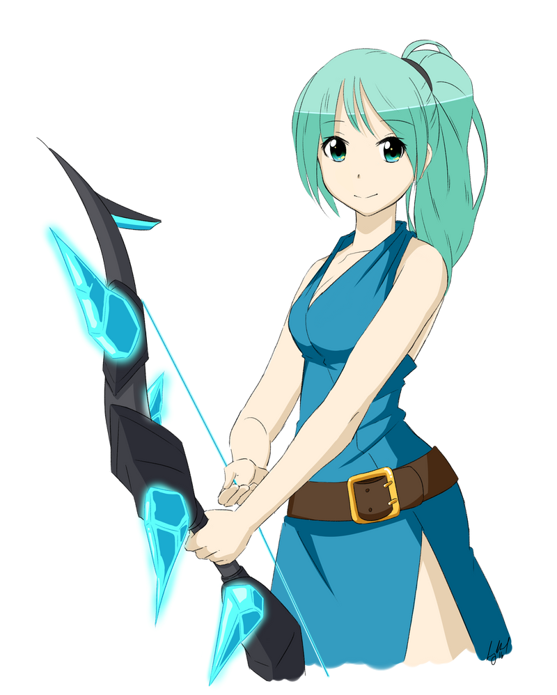 Anime Characters In Terraria : Helena the huntress by tkdcory on deviantart
