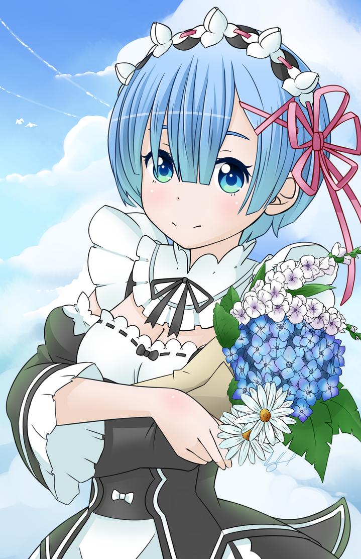 Blue Flower by TKDcory