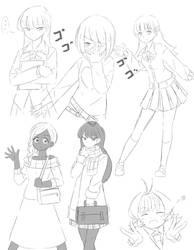 Miss Komi Doodles