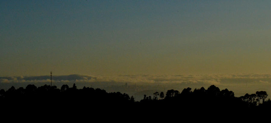 Dusk over San Francisco by ChaosWolfPictures