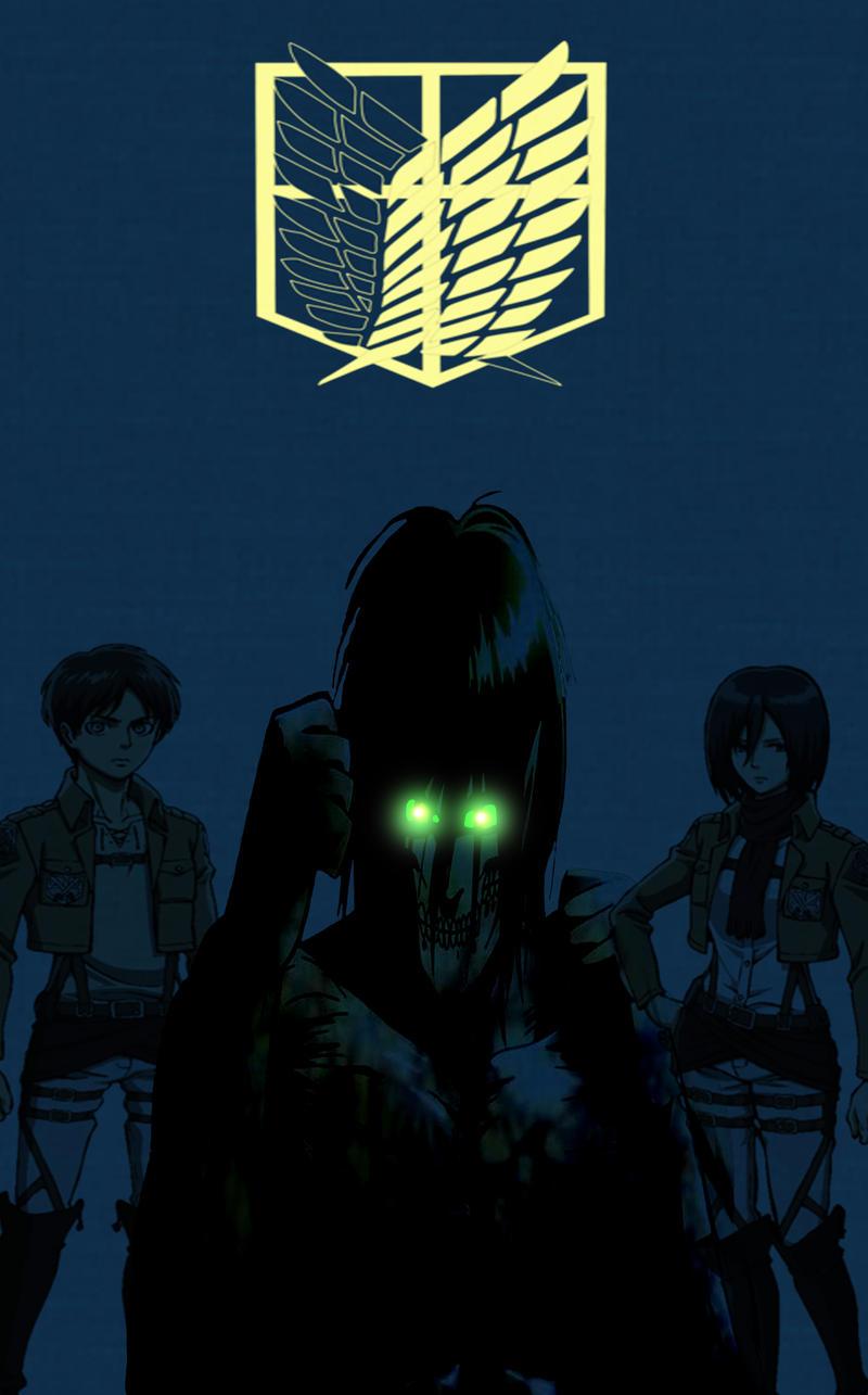 Attack On Titan Phone Wallpaper By Darktimeplay On Deviantart