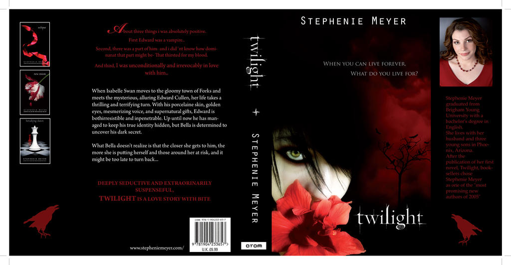Book Cover Craft Covers : New twilight book cover by helenegunn on deviantart