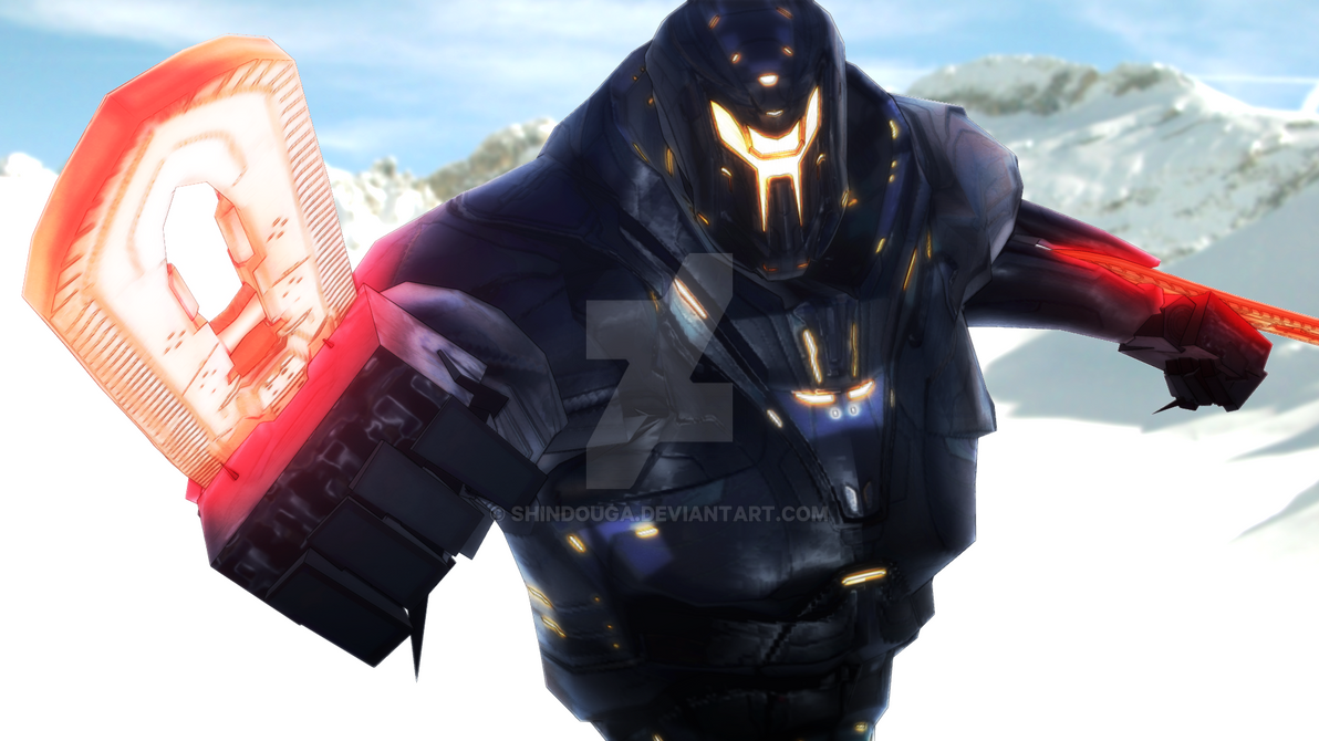 Mmd Wip Obsidian Fury Pacific Rim Uprising By Shindouga On