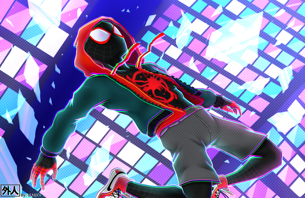 Into the SpiderVerse by L09266