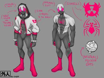 Spidersona re-design complete by L09266