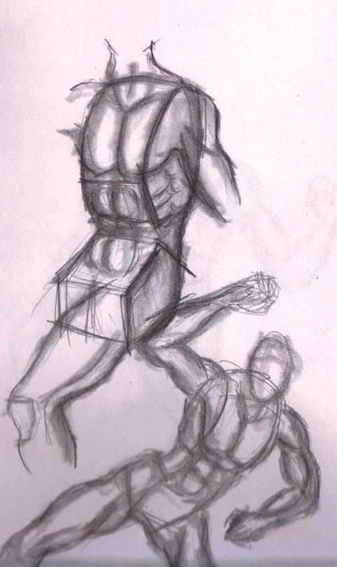 dynamic pose study 01 by kyupol