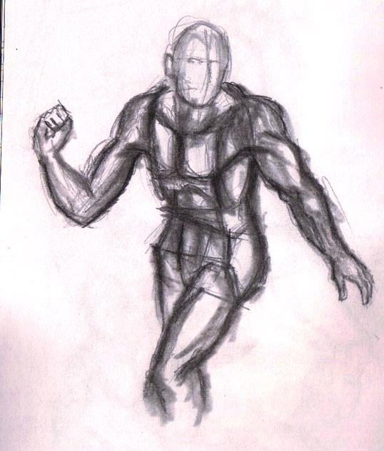 dynamic pose study 02 by kyupol
