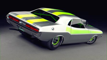 1970 Challenger by THExDUKE