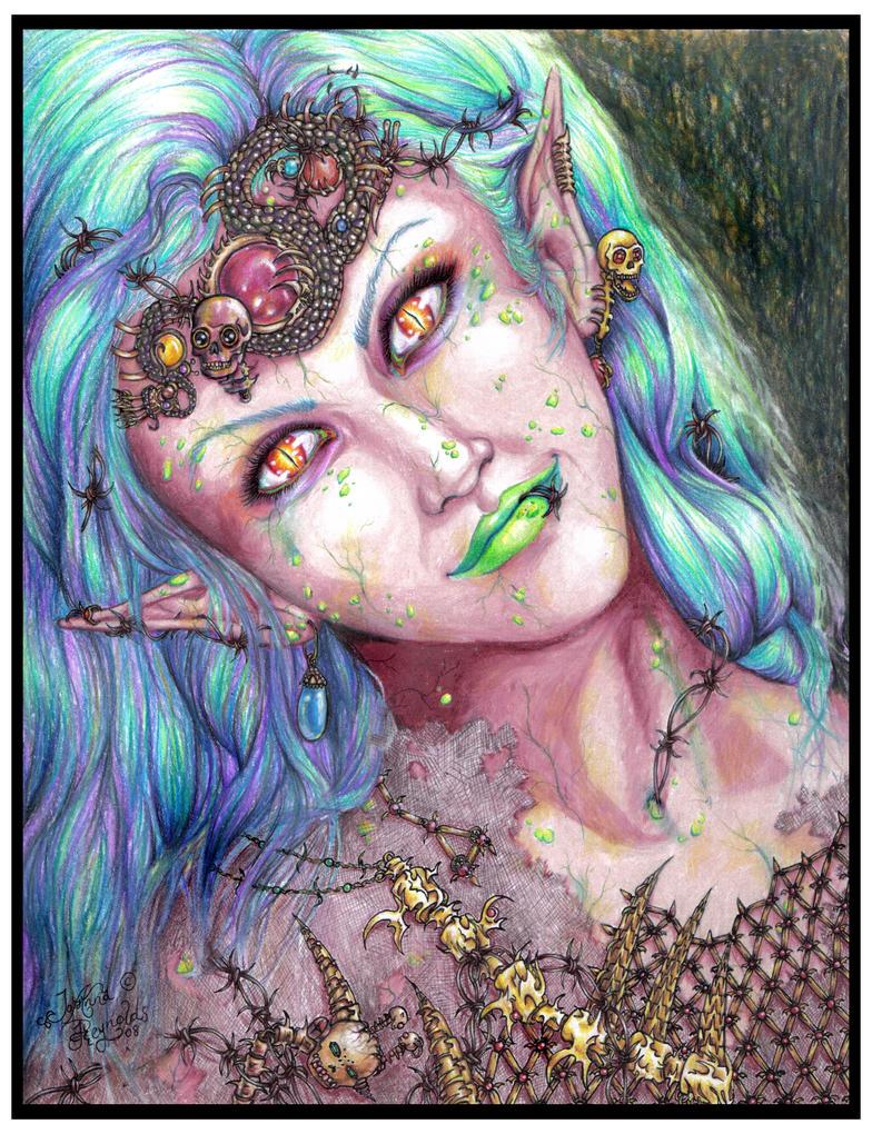 The Undead Queen by Arcea-Drakkarre