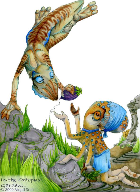 Octopus' Garden by keaalu