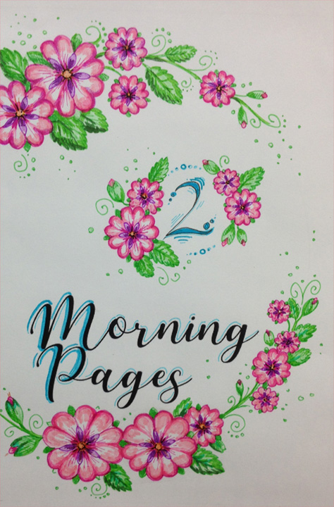 Morning Pages title page by keaalu