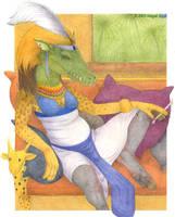 Ammut, Eater of Hearts by keaalu
