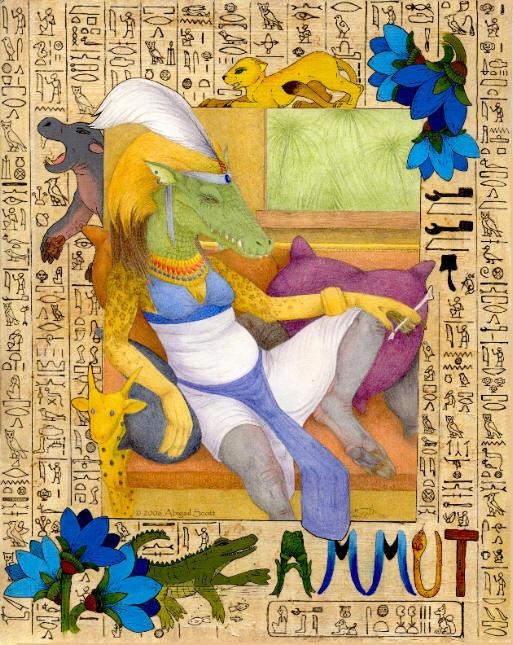 Ammut, Great of Death - final by keaalu