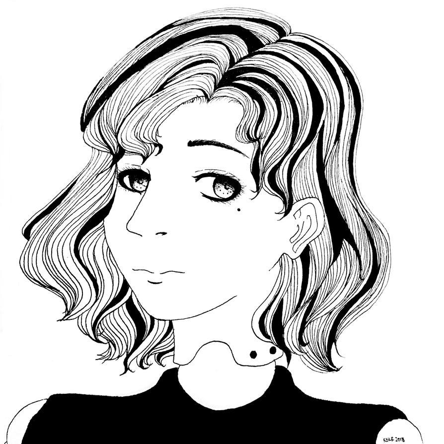 Portrait of a Doll by AnimeKristelle