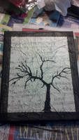Tree on sheet music