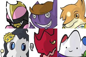 Pokemon Crossing Icons by Crimson-Jazz